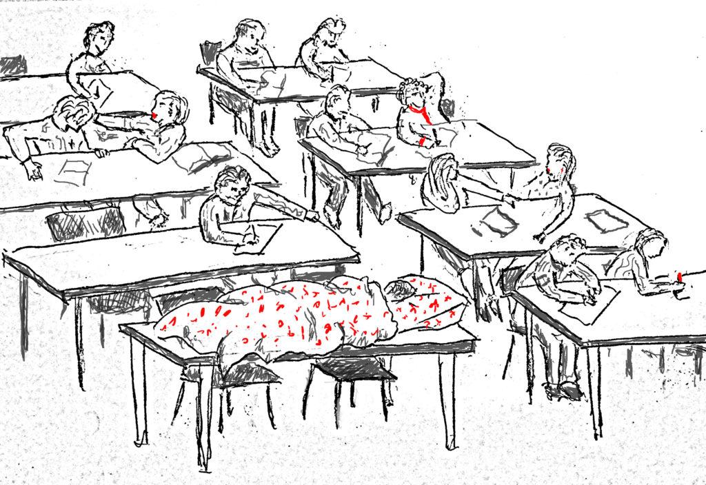 сон в классе